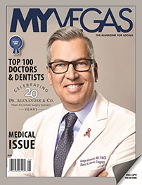 Dr. George Alexander Voted Top Doctor by MyVegas Magazine