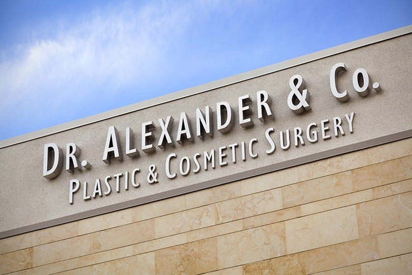 Dr George Alexander Office Sign