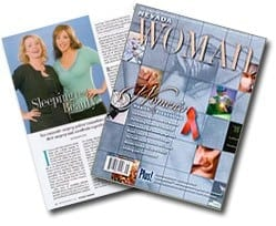 Nevada Women Magazine Cover September October 2005