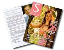 S Magazine cover