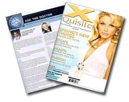 X Quisite Magazine cover
